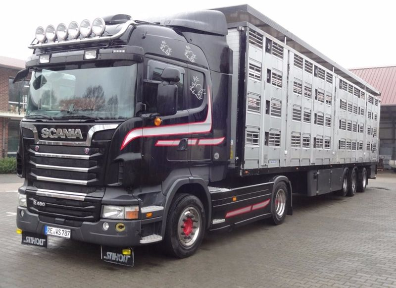 Перевозка негабаритных грузов по Европе