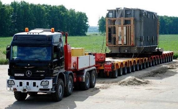 Перевозка негабаритного груза в Нижний Новгород