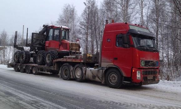 Перевозка негабаритного груза в Краснодар
