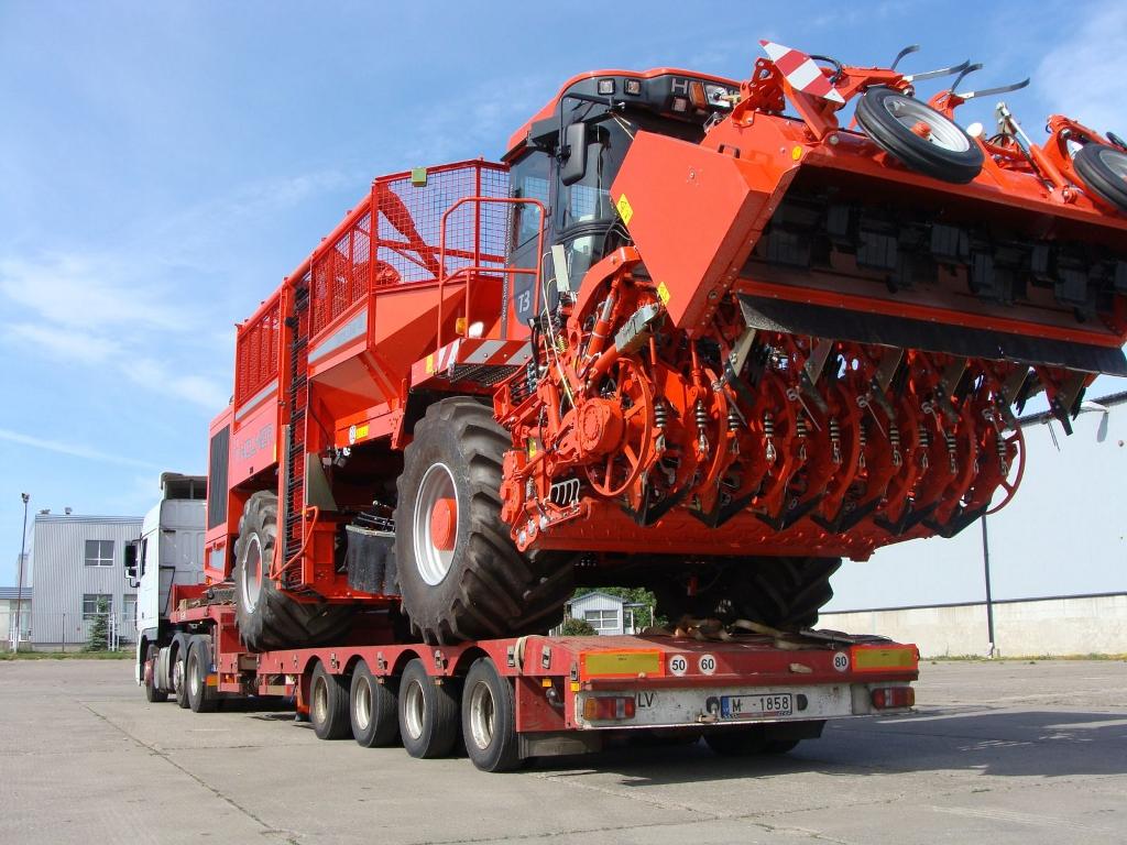 Перевозка негабаритных грузов в Оренбург