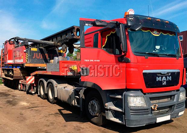 Организация негабаритных перевозок от транспортной компании МК-Логистик