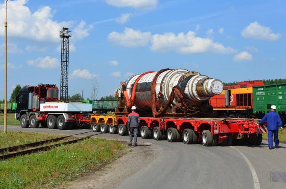 Перевозка негабаритного груза в Кемерово