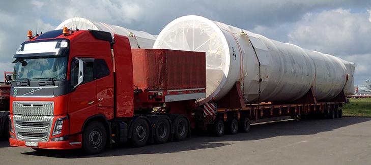 Перевозка негабаритных грузов в Великий Новгород