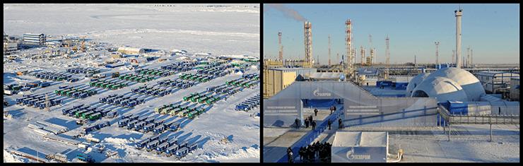 Доставка грузов на Бованенское месторождение