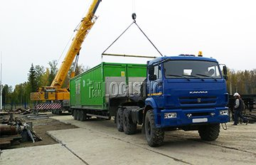 Доставка грузов в ЯНАО