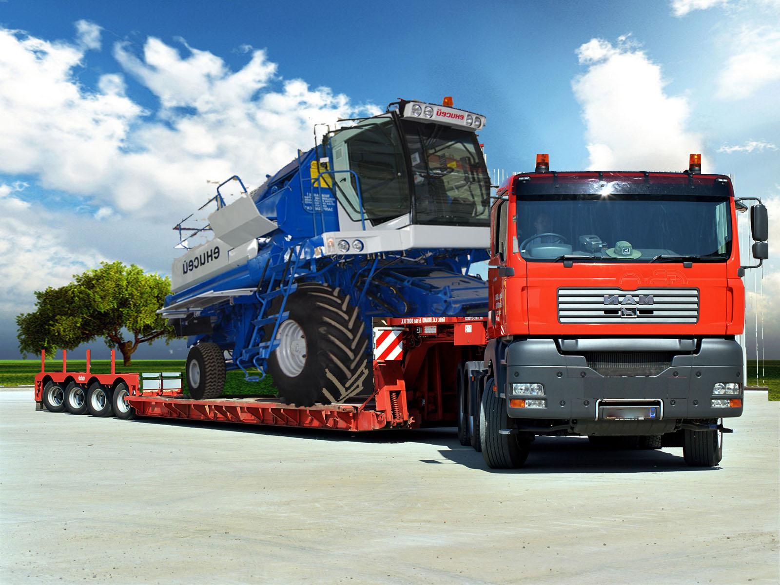 Перевозка негабаритных грузов в Братск