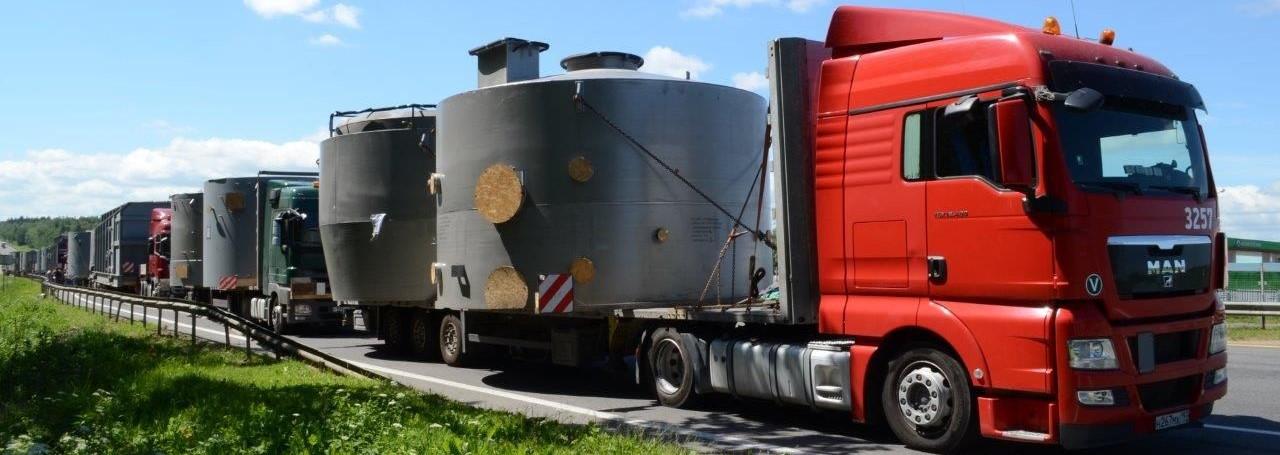 Перевозка негабаритных грузов в Архангельск