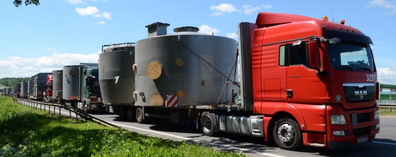 Перевозка негабаритного груза в Иркутск