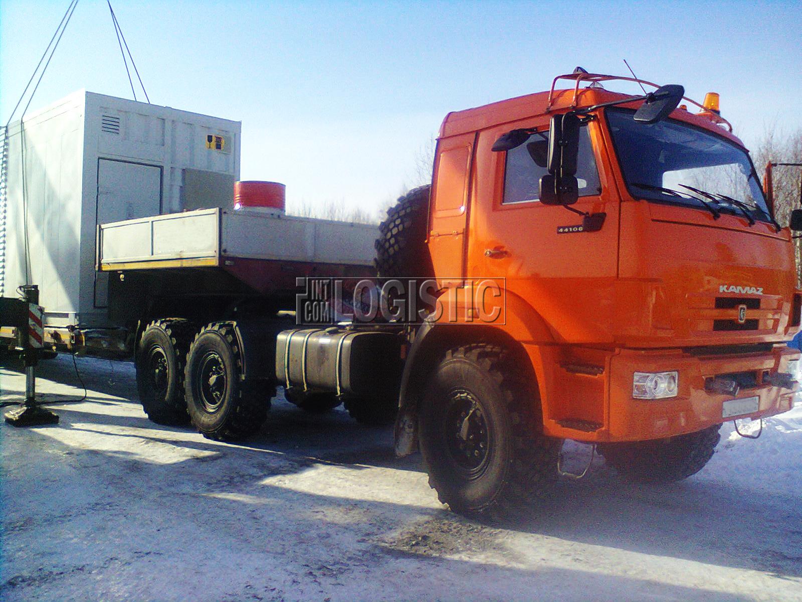 Доставка грузов до месторождений и на различные промышленные объекты