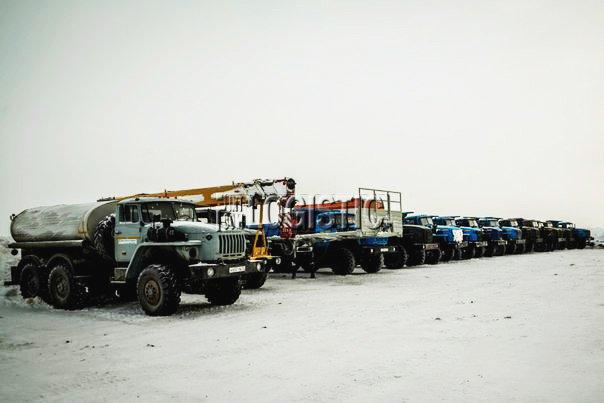 перевоза грузов к месторождениям