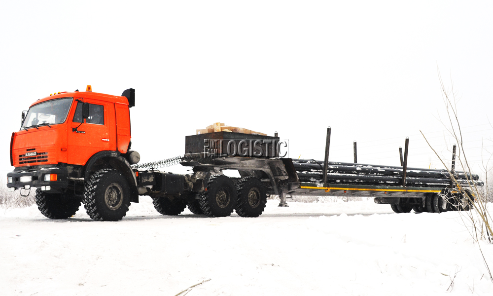 Доставка грузов до месторождений
