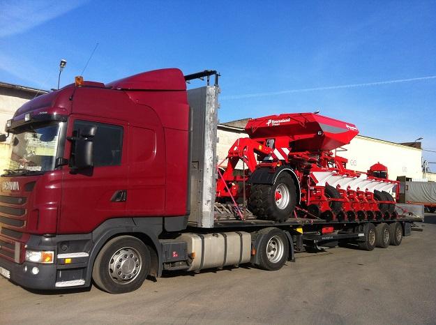 Перевозка негабаритных грузов в Германию