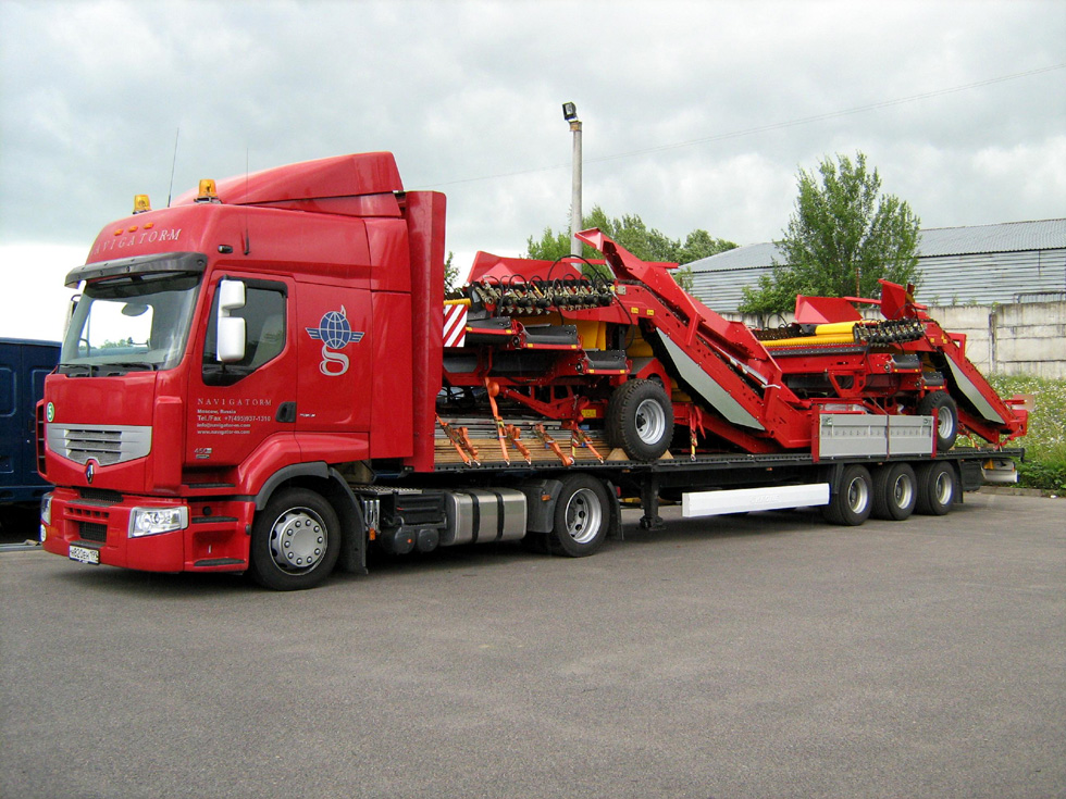 Перевозка негабаритных грузов в Пензу