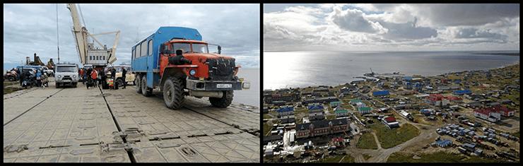 Доставка негабаритных и сборных грузов по воде на Новый Порт